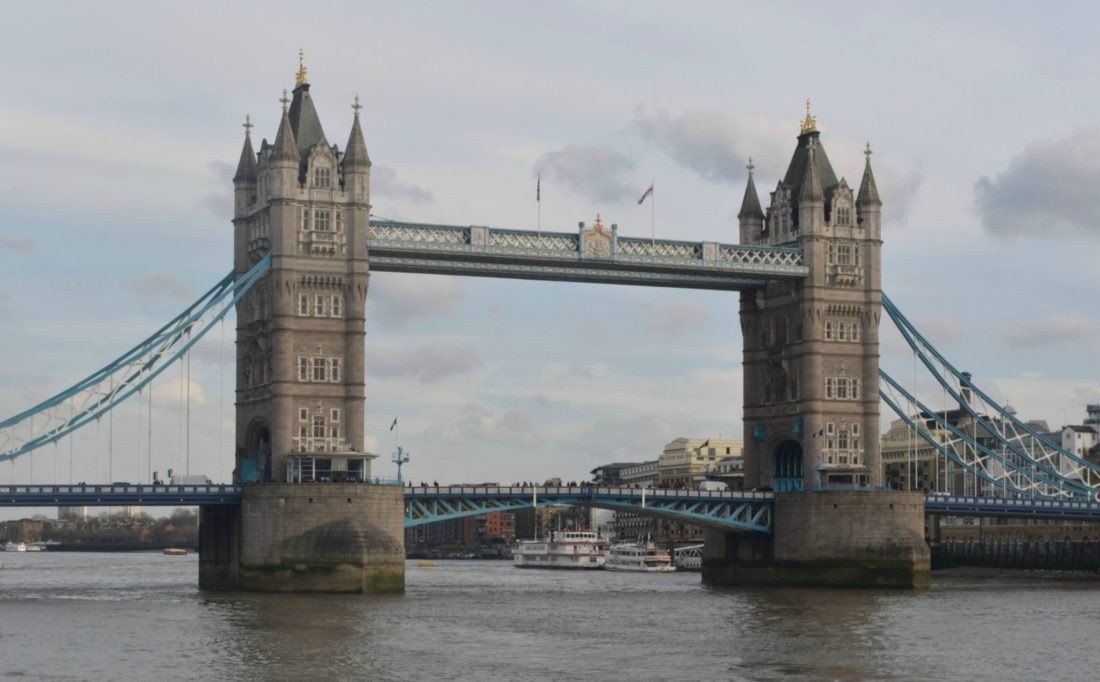 How to see London in 3 days - Tower Bridge.