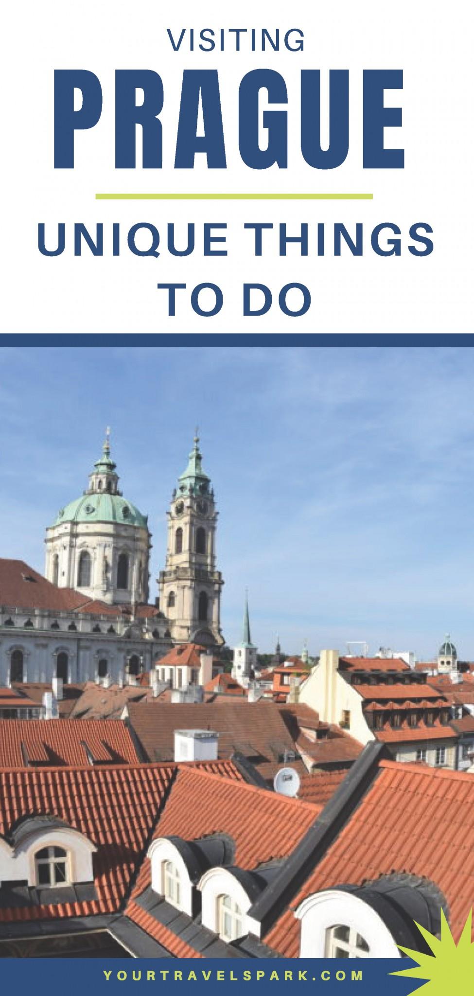 Unique things to do in Prague, Czech Republic.
