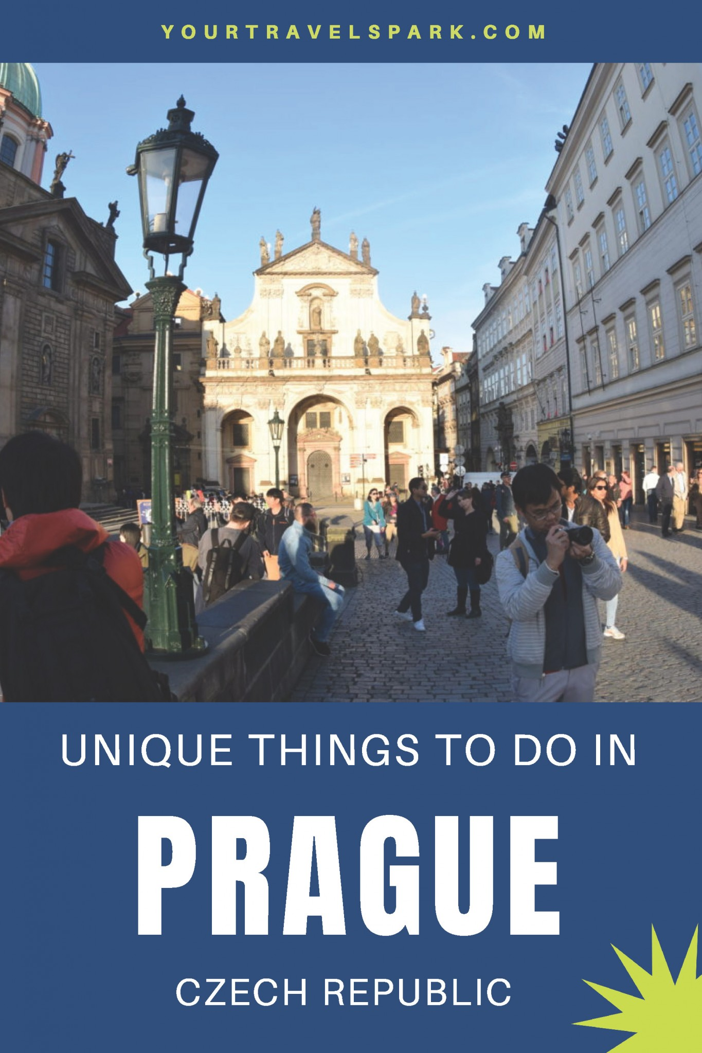 Unique things to do in Prague, Czech Republic.