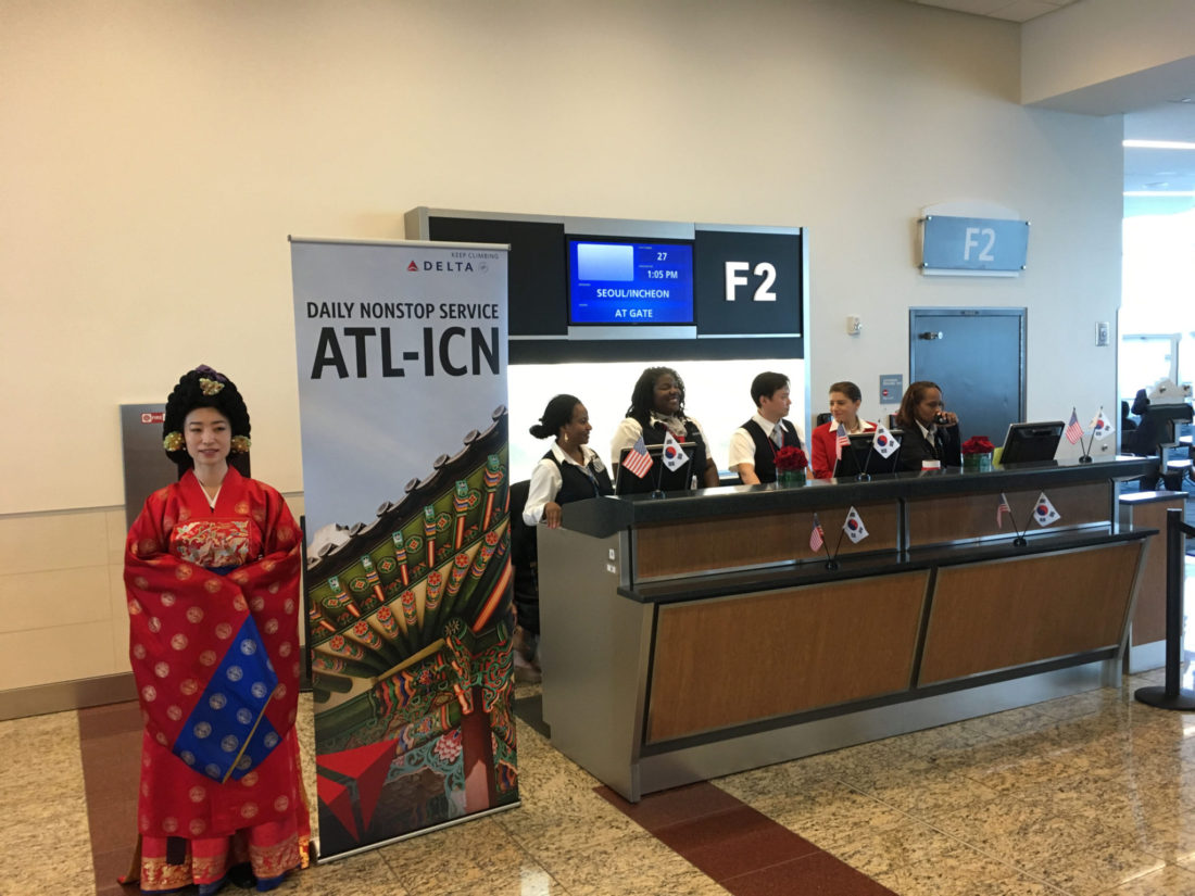 Delta Airlines launches daily nonstop flight between Atlanta and Seoul