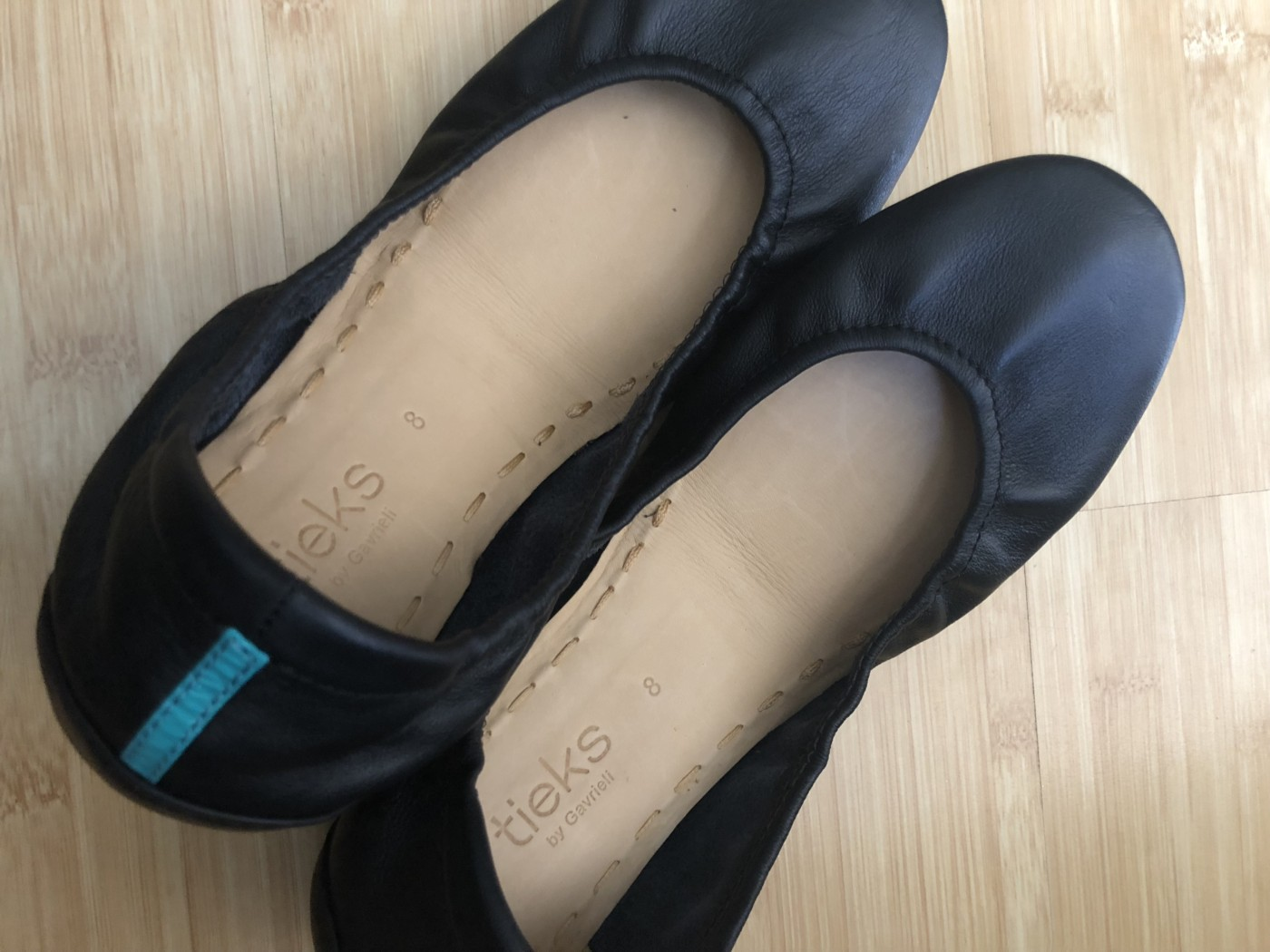 b8857a213db A negative Tieks ballet flat shoe review Source · Best travel ballet flat  My Tieks review