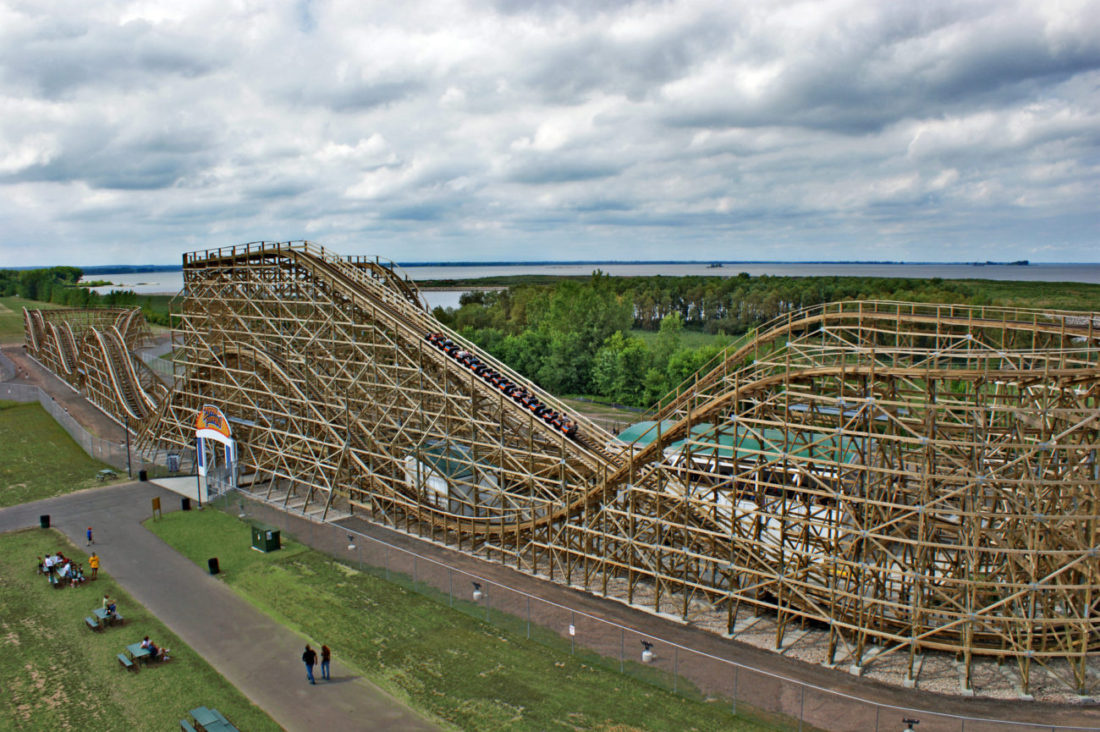 Zippin Pippin in Green Bay, Wisconsin.