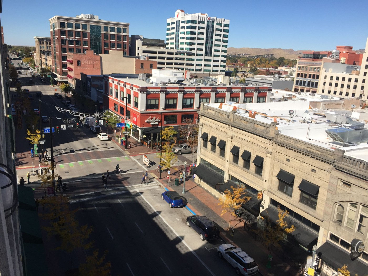 Downtown Boise, Idaho.