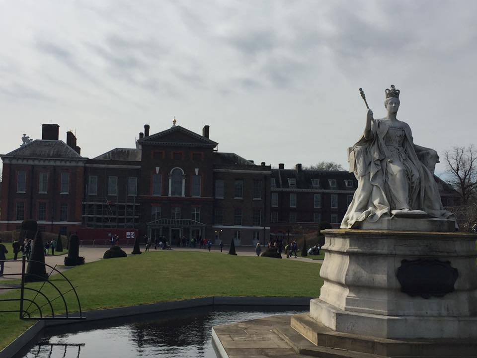 Kensington Palace, London.