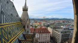 How to get to the top of St. Stephen's Cathedral in Vienna, Austria.