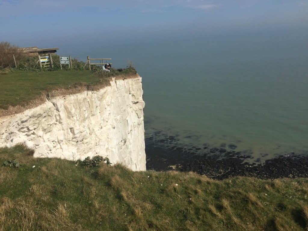 White Cliffs of Dover, United Kingdom.