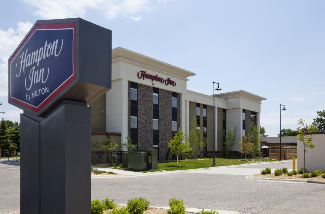 Hampton Inn is most popular hotel for business travelers