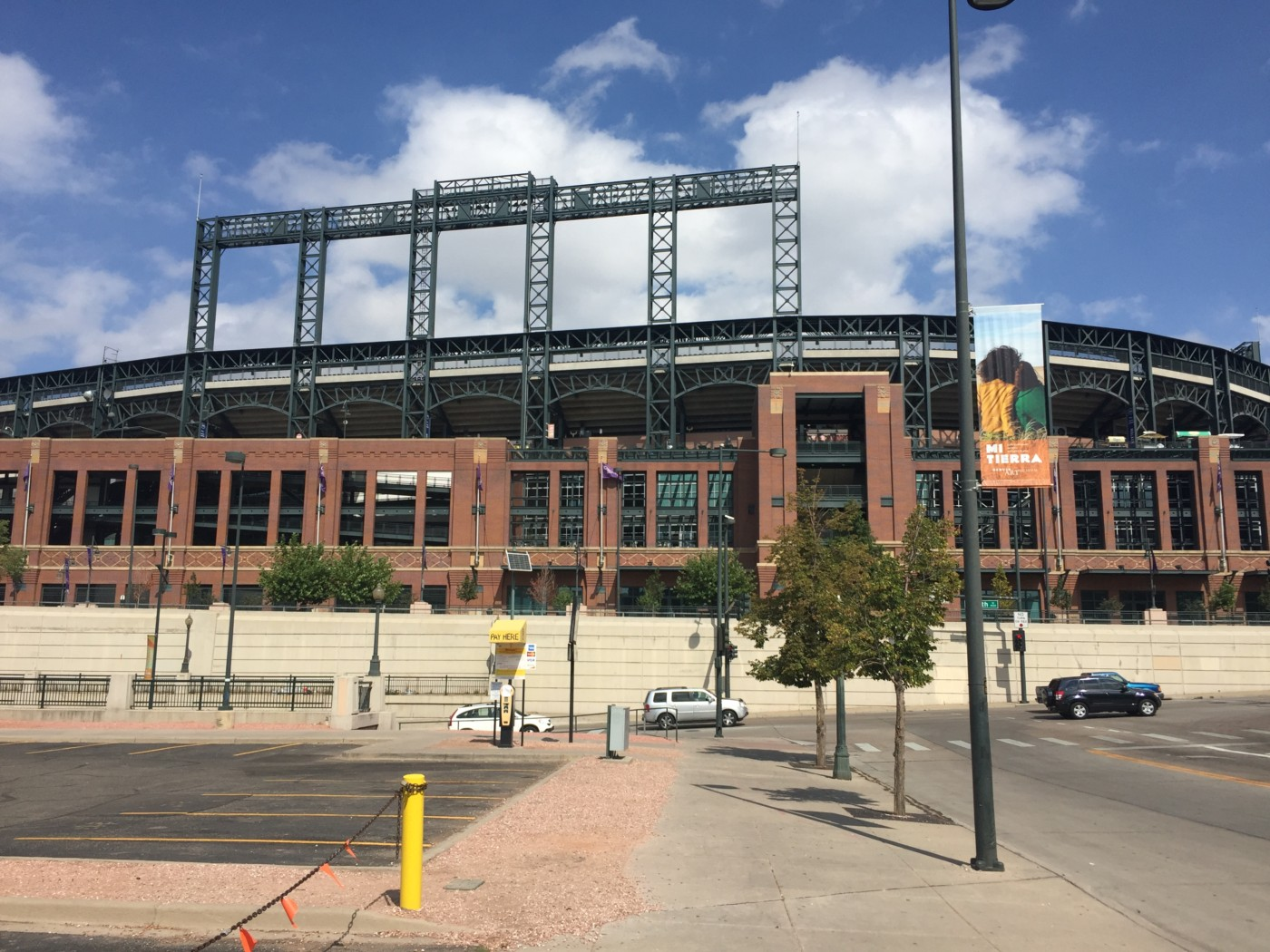 Coors Field in Downtown Denver, Colorado.