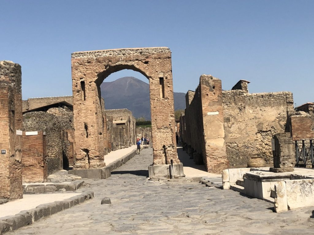Visiting Pompeii, Italy and Climbing Mount Vesuvius