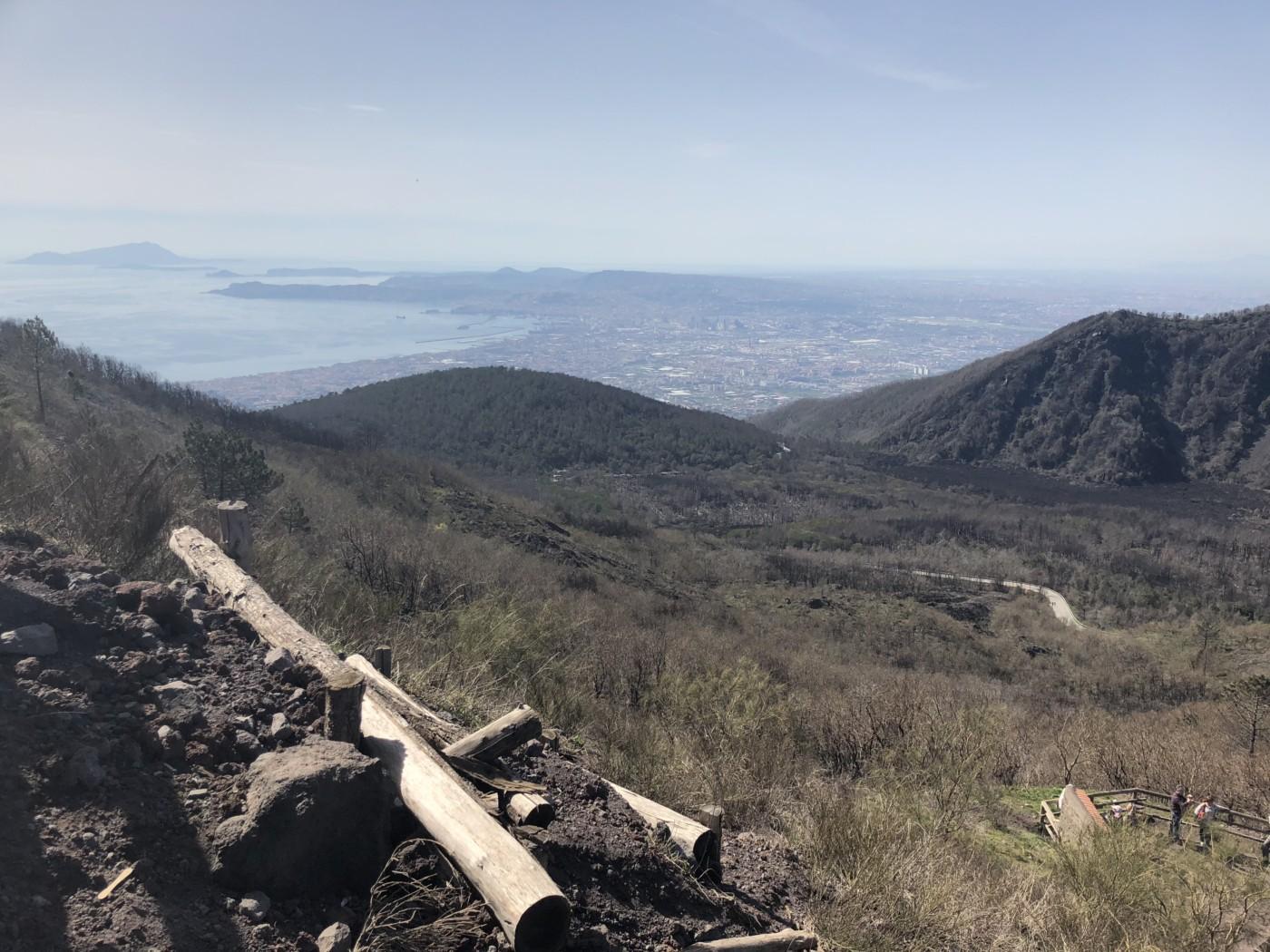 Visiting Pompeii, Italy and Climbing Mount Vesuvius