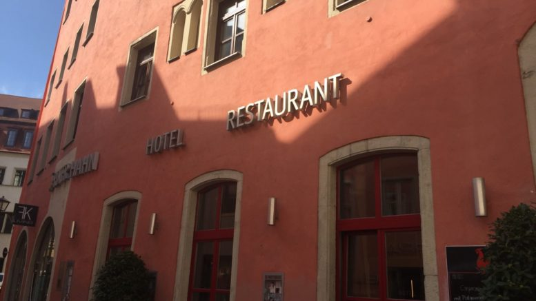 Roter Hahn (Red Rooster) Hotel in Regensburg, Germany