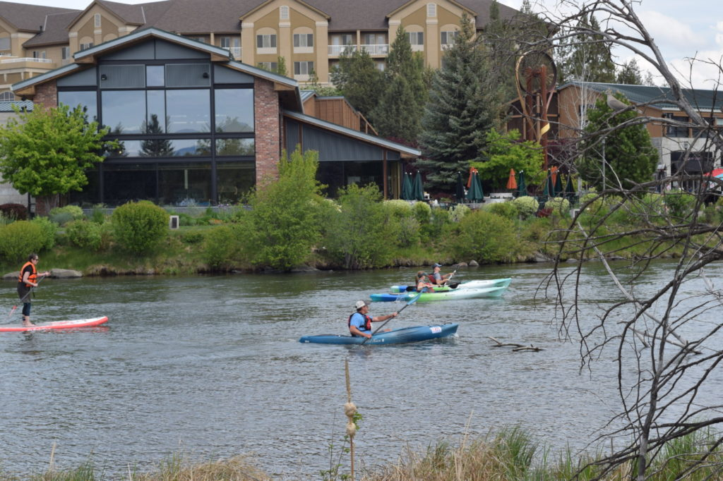 Pole Pedal Paddle in Bend, Oregon.