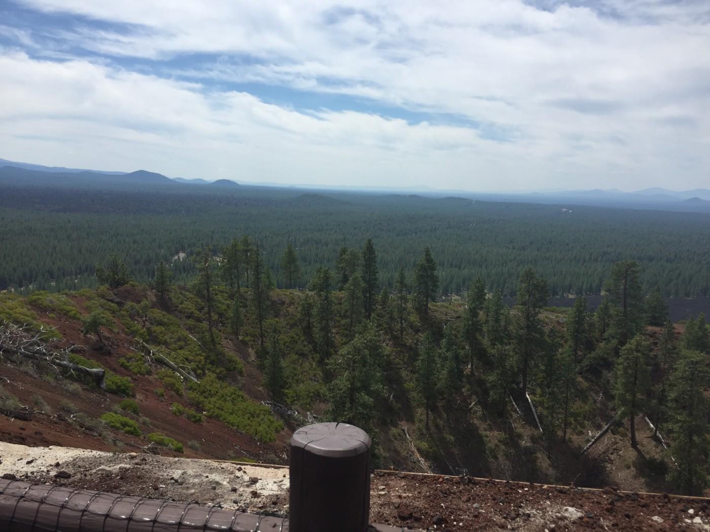 Lava Butte in Central Oregon.