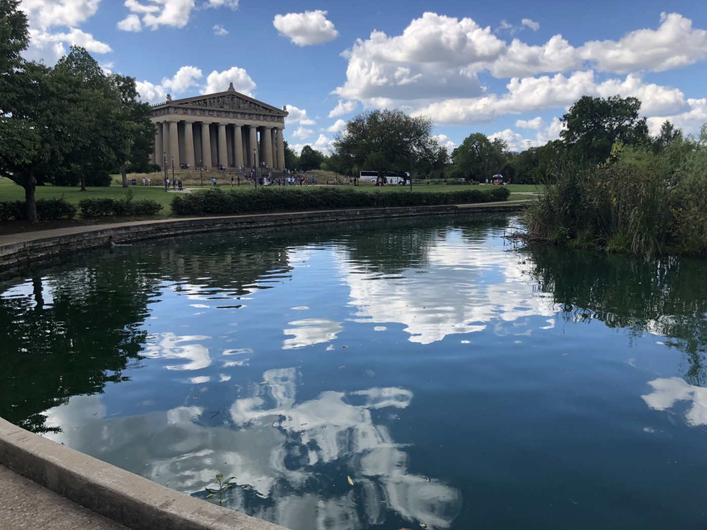 Visiting the Parthenon in Nashville, Tennessee