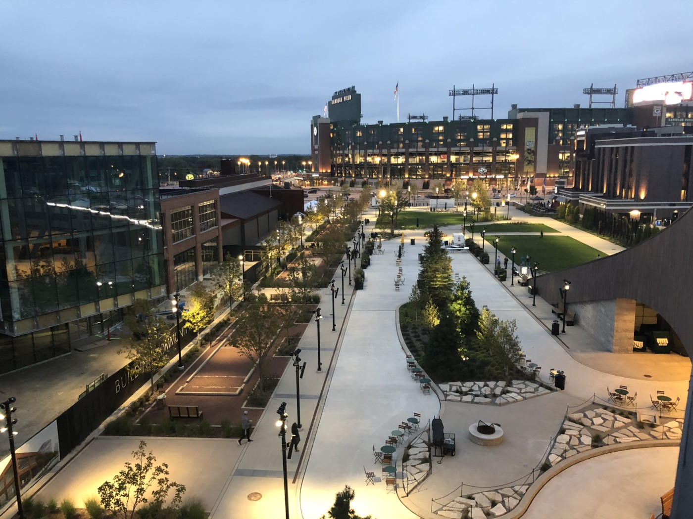 Visiting the Titletown District in Green Bay, Wisconsin