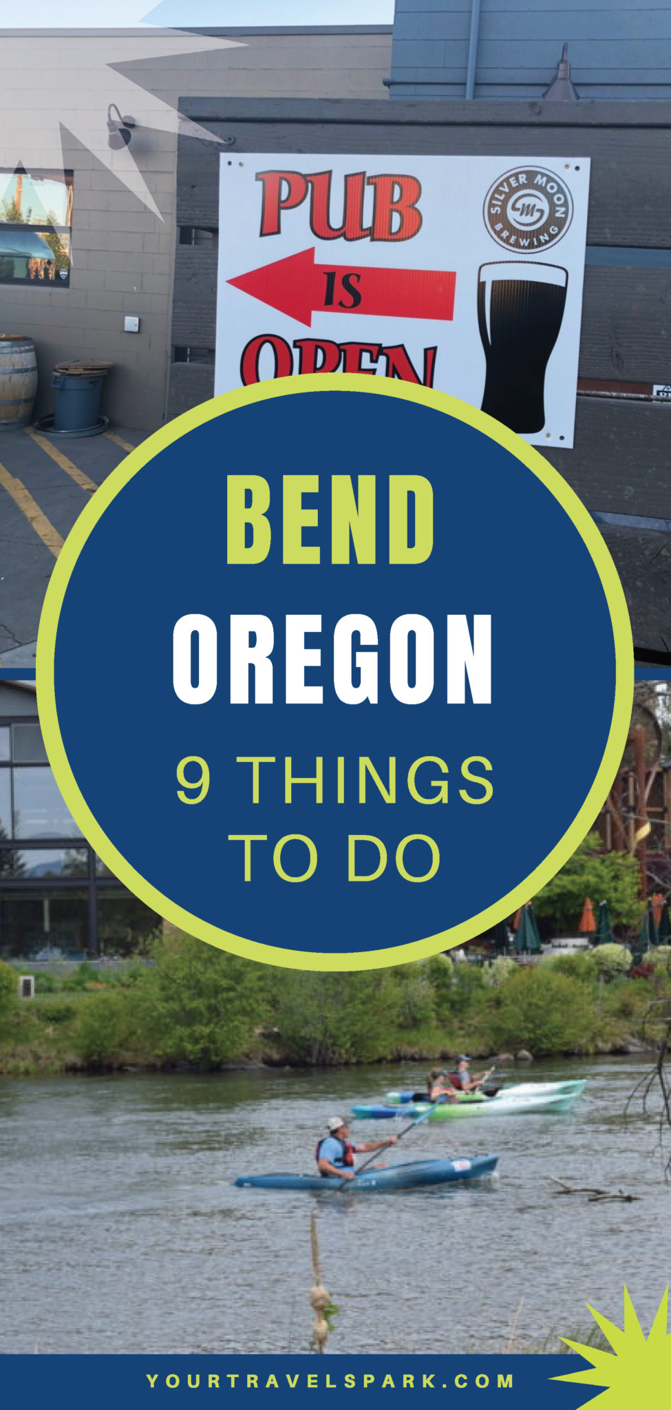 Visiting Bend, Oregon means hiking, camping, skiing, breweries, and more! Here are some things to do, places to stay, and breweries to visit in Bend, Oregon. #bendoregon #bend #oregon #centraloregon #thingstodo #breweries #hiking #camping #skiing #mountbachelor #mtbachelor #southsister #threesisters #trails #outdoors #10barrel #deschutesbrewery #deschutes