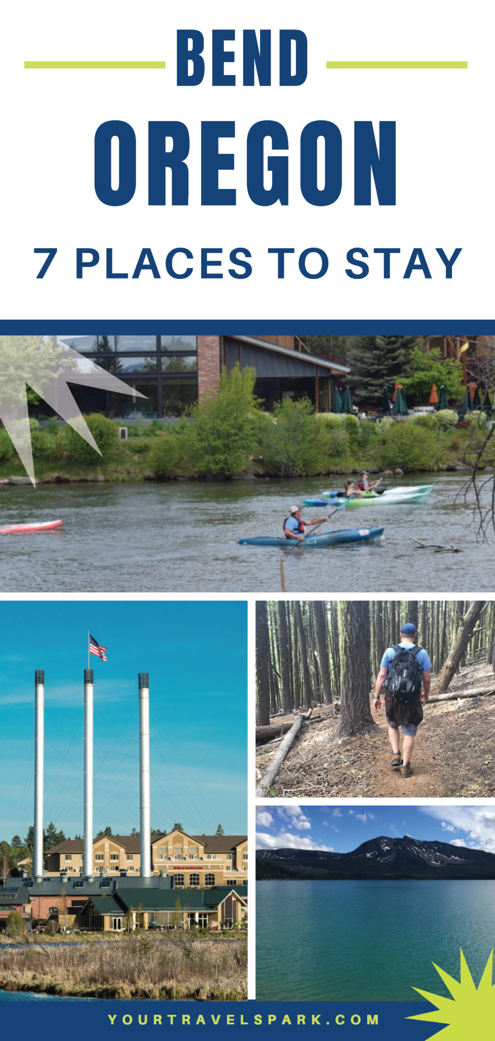 Visiting Bend, Oregon means hiking, camping, skiing, breweries, and more! Here are some things to do and places to stay in Bend, Oregon. #bendoregon #bend #oregon #centraloregon #thingstodo #breweries #hiking #camping #skiing #mountbachelor #mtbachelor #southsister #threesisters #trails #outdoors