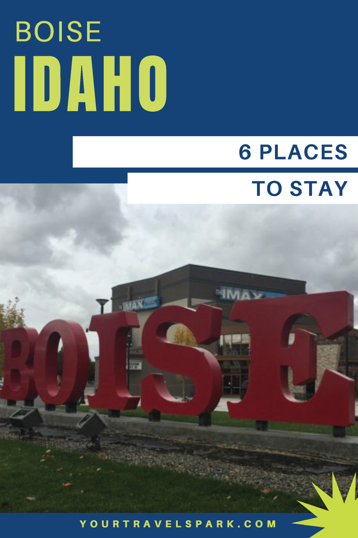 Boise, Idaho is becoming a great destination to visit - whether it be for skiing, breweries, or nightlife. Here are our favorite places to stay in Boise, Idaho. #boise #idaho #boiseidaho #boiseid #potatoes #placestostay #placestostayinboise #lesbois #cityoftrees