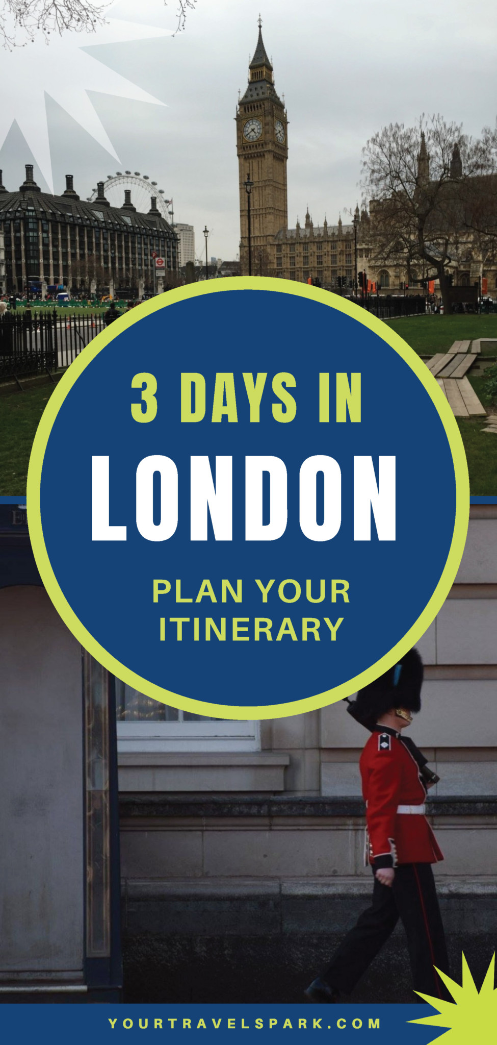 How to spend 3 days in London, UK - plan your itinerary for England. #england #uk #london #3daysin #3daysinlondon #whitecliffs #wimbledon #windsor #hydepark #kensingtonpalace #buckingham #buckinghampalace