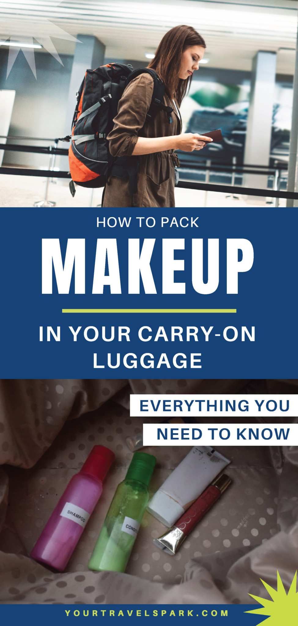 How To Pack Makeup In Carry On Luggage 2019 Tsa Travel