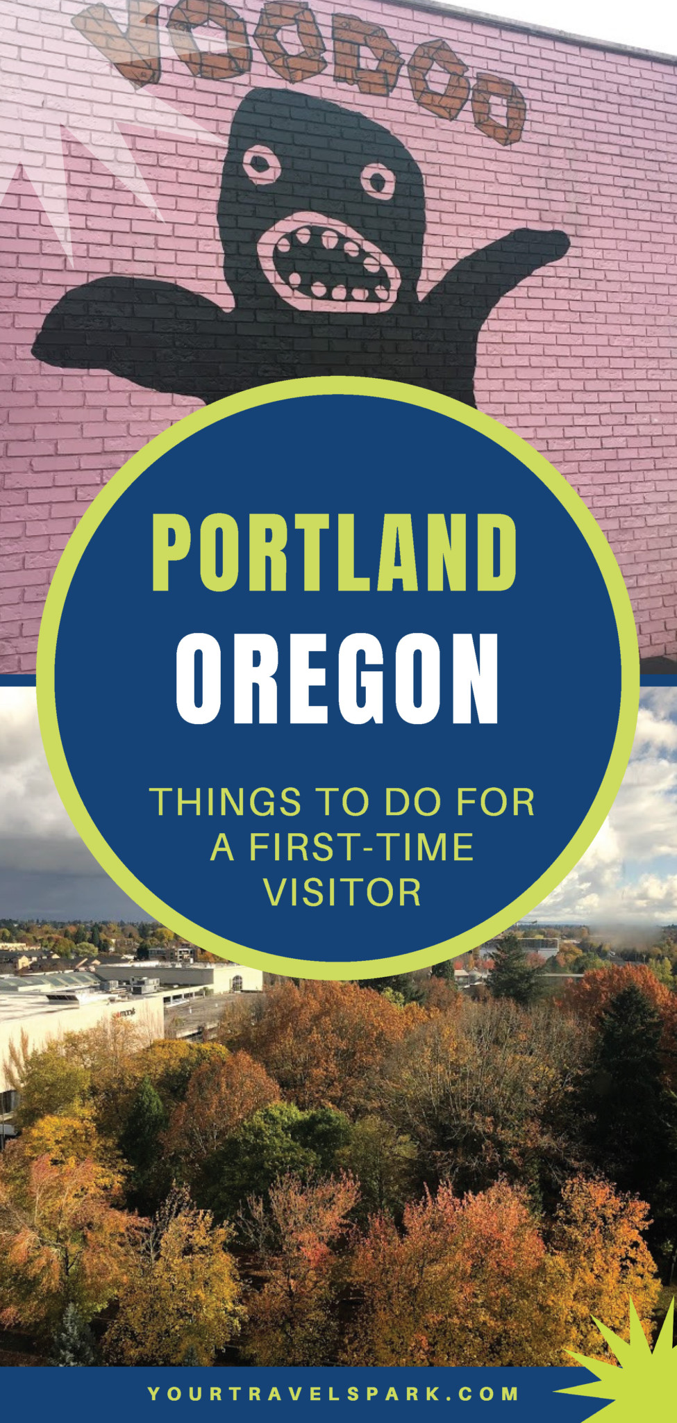 Portland, Oregon is a beautiful destination. Whether you're staying downtown or want to road trip, here are our favorite things to do in Portland for a first-time visitor. #portland #portlandor #portlandoregon #oregon #cannonbeach