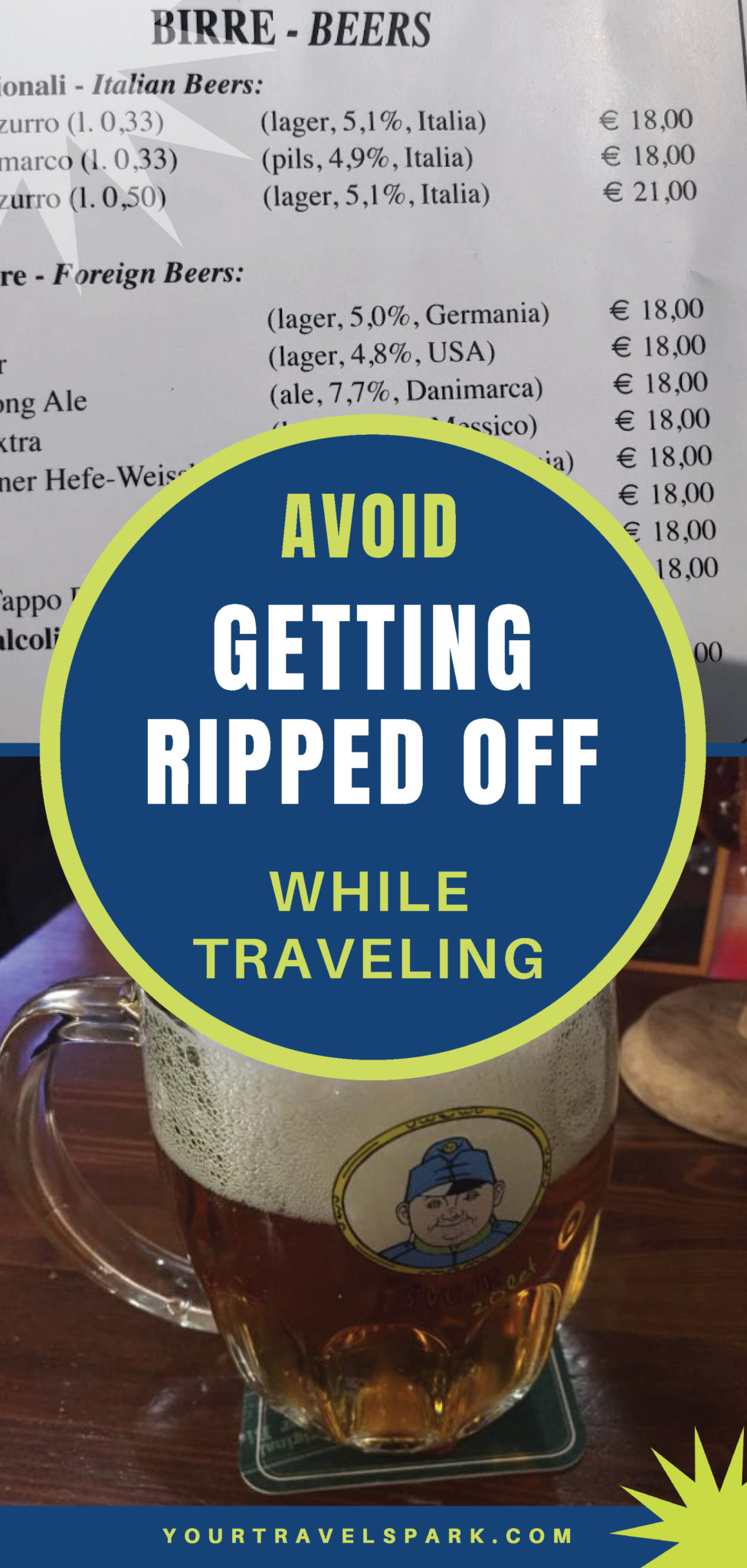 Being in a foreign country can be a stressful time - but here are our best tips to avoid getting taken advantage of while traveling. #traveling #travelfears #rippedoff #travelscares #travelstress