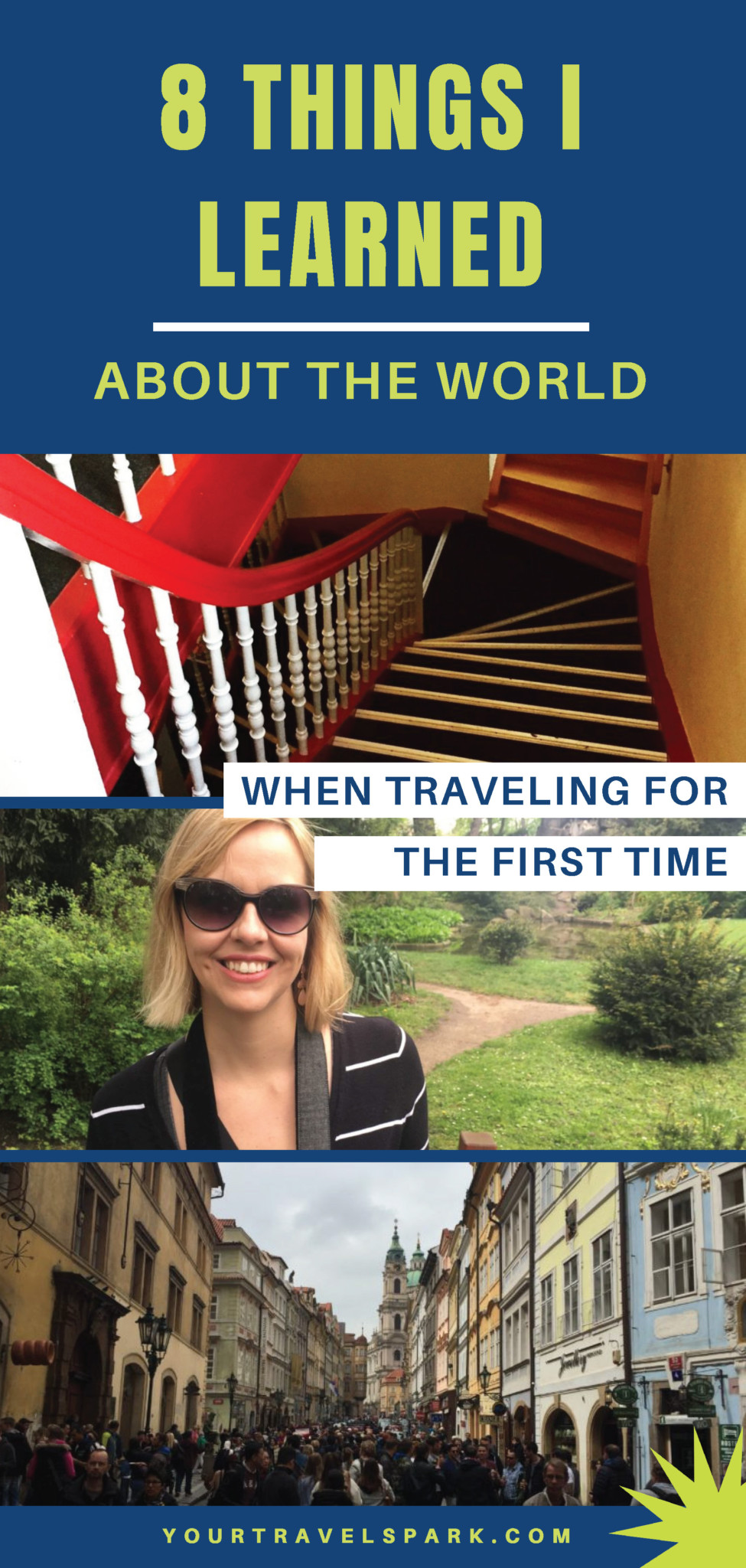 Traveling for the first time can be a fun and insightful experience. I learned so many things about myself and the world when traveling for the first time. #traveltips #traveling #travel #travelinternationally #internationaltravel