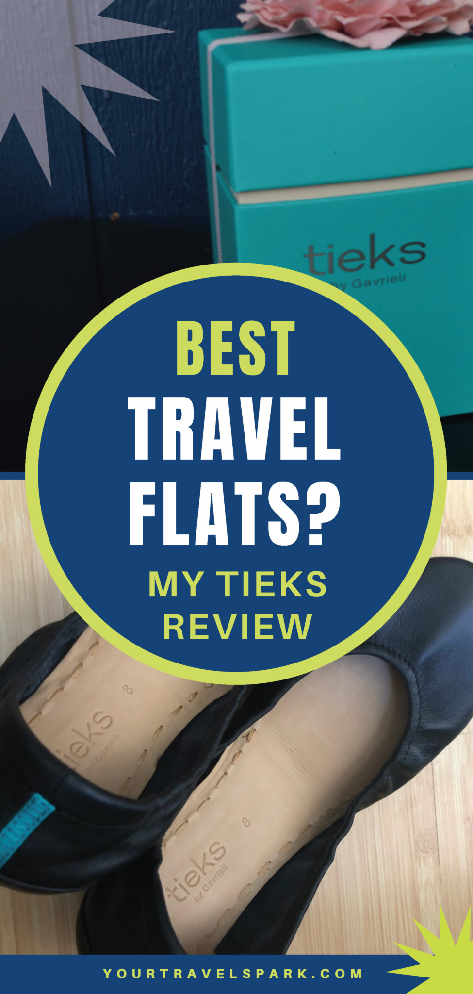 Are you looking for the best ballet flats for travel? Here is my Tieks review. #balletflats #travelflats #travelballetflats #flats #tieks #tieksflats #tieksballetflats #review #tieksreview #mytieks