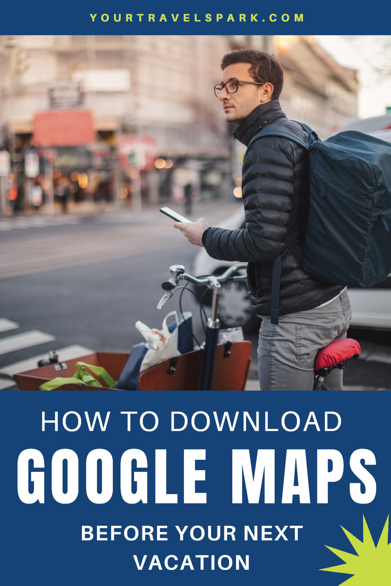 You never know what the wifi or internet situation will be like in a foreign country — or even a foreign city. Here is how you download the Google Map of your destination before you even get there. #google #googlemaps #travel #travelmaps #travelmap #travelgooglemap