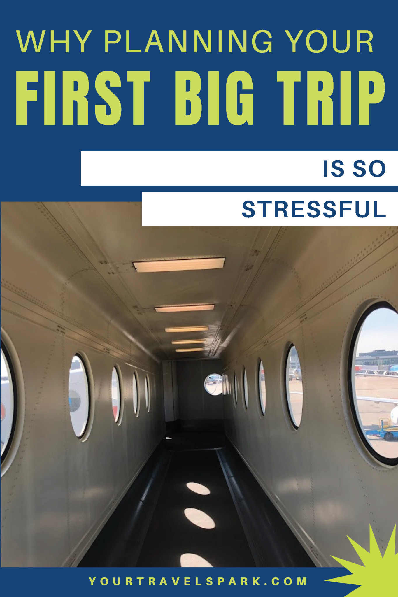It seems like planning your first big trip is so much more stressful than every trip after it. Here are some reasons planning your first big trip is so stressful. #travel #travelplanning #travelplan #itinerary #travelstress #planningstress #travelplanningstress