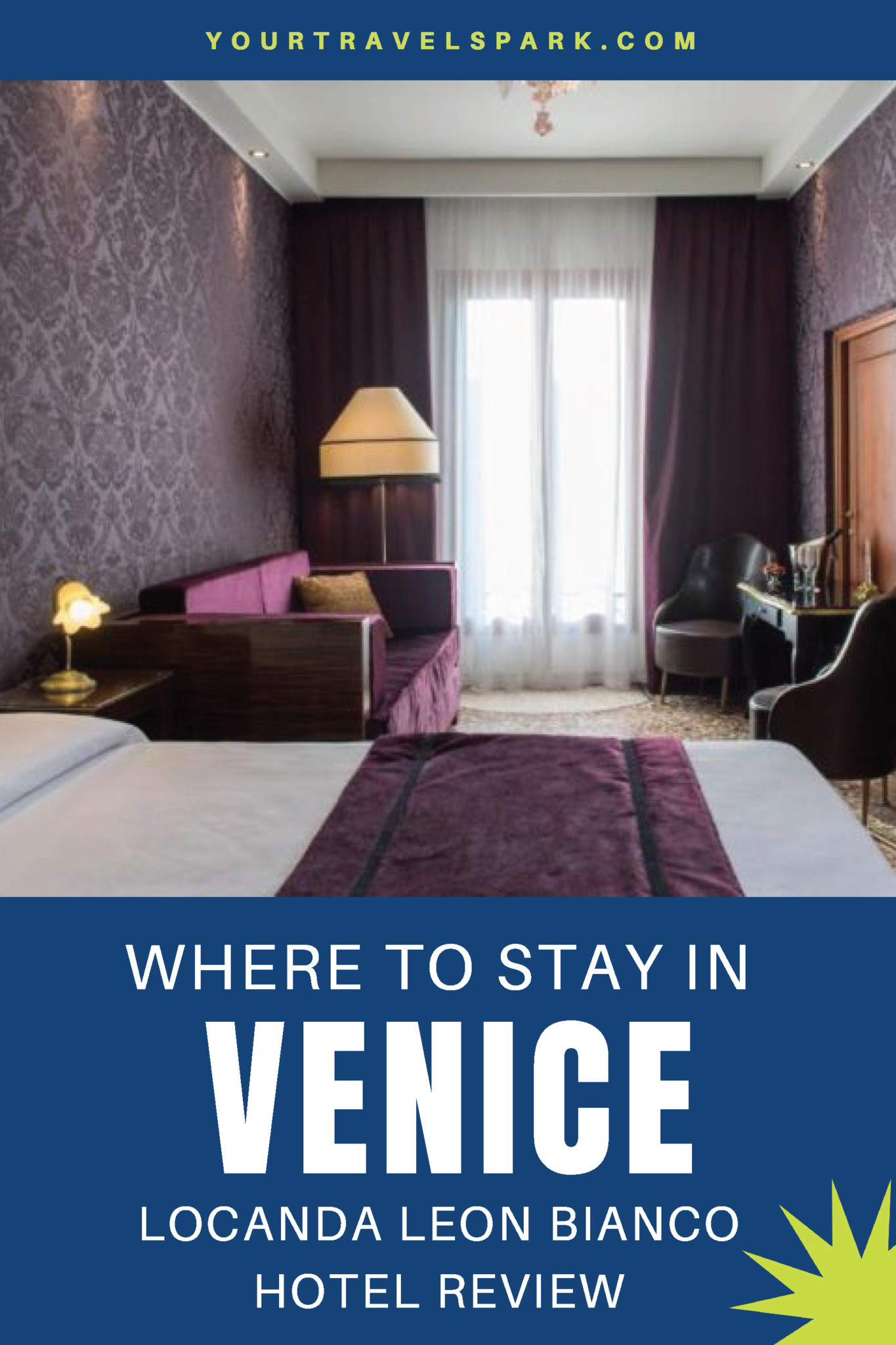 Finding a place to stay in Venice, Italy can be an overwhelming experience. Here is our review of a wonderful hotel in Venice called Locanda Leon Bianco. #venice #veniceitaly #venicehotels #locandaleonbianco #venezia #italia