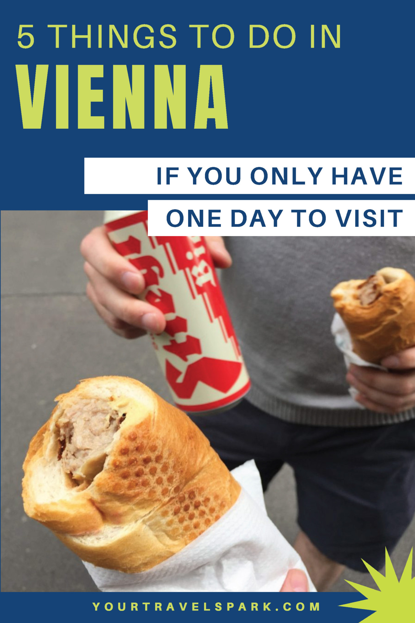 Vienna is a beautiful destination. If you are in the city for only one day, here are 5 things you can do in Vienna, Austria. #vienna #viennaaustria #austria #wien #thingstodoinvienna #schonnbrunnpalace