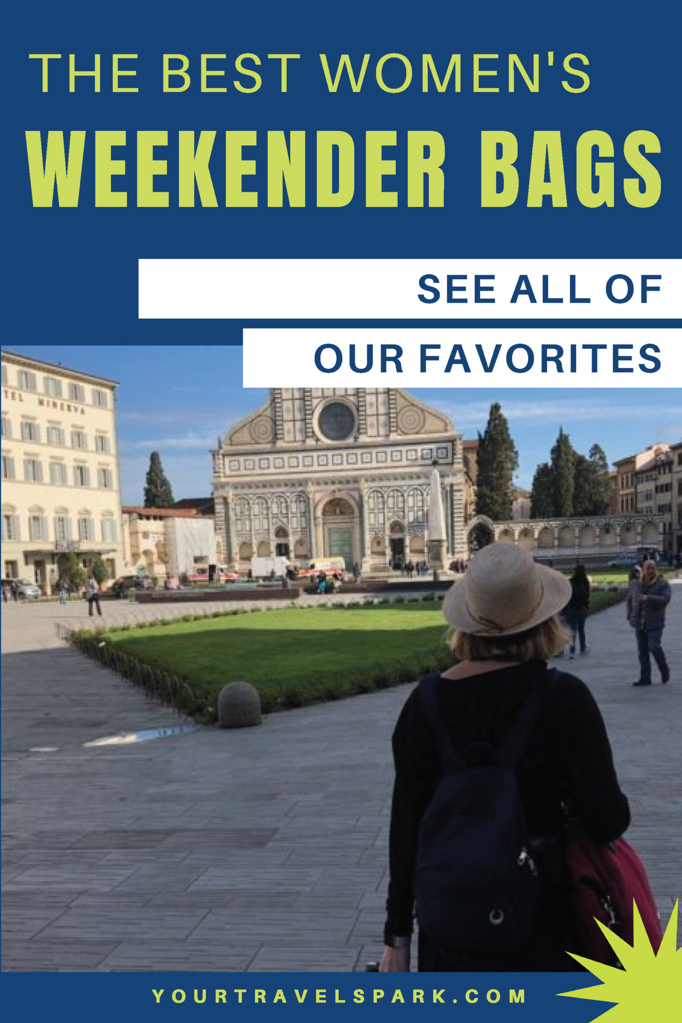 Weekender bags can be perfect for a short trip or a second piece of luggage. Here are our favorite weekender bags for women. #weekenderbags #weekender #weekenderforwomen #weekendersforwomen #womensbags #travelbags #womenstravelbags #womensluggage #luggaeg