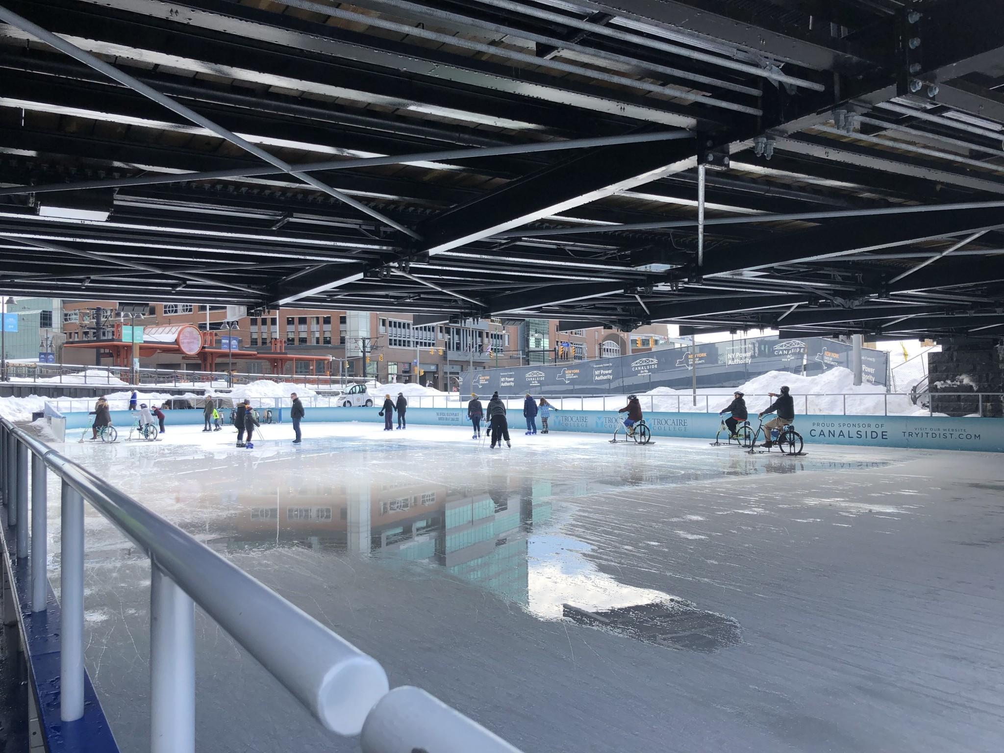Canalside ice skating: My favorite thing in downtown Buffalo, New York