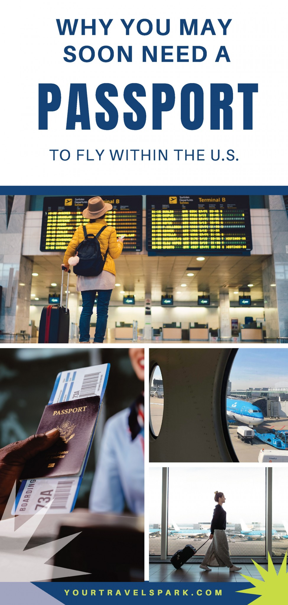 Residents in 11 U.S. states will need a passport for all flight and travel within the United States flights because of the Real ID Act — 11 states are currently not in compliance with the Real ID Act. #realidact #travel2019 #travel #unitedstatestravel #ustravel #unitedstates #passport #uspassport #unitedstatespassport #usflights #unitedstatesflights #usflight #unitedstatesflight #passporttravel #roadtrip