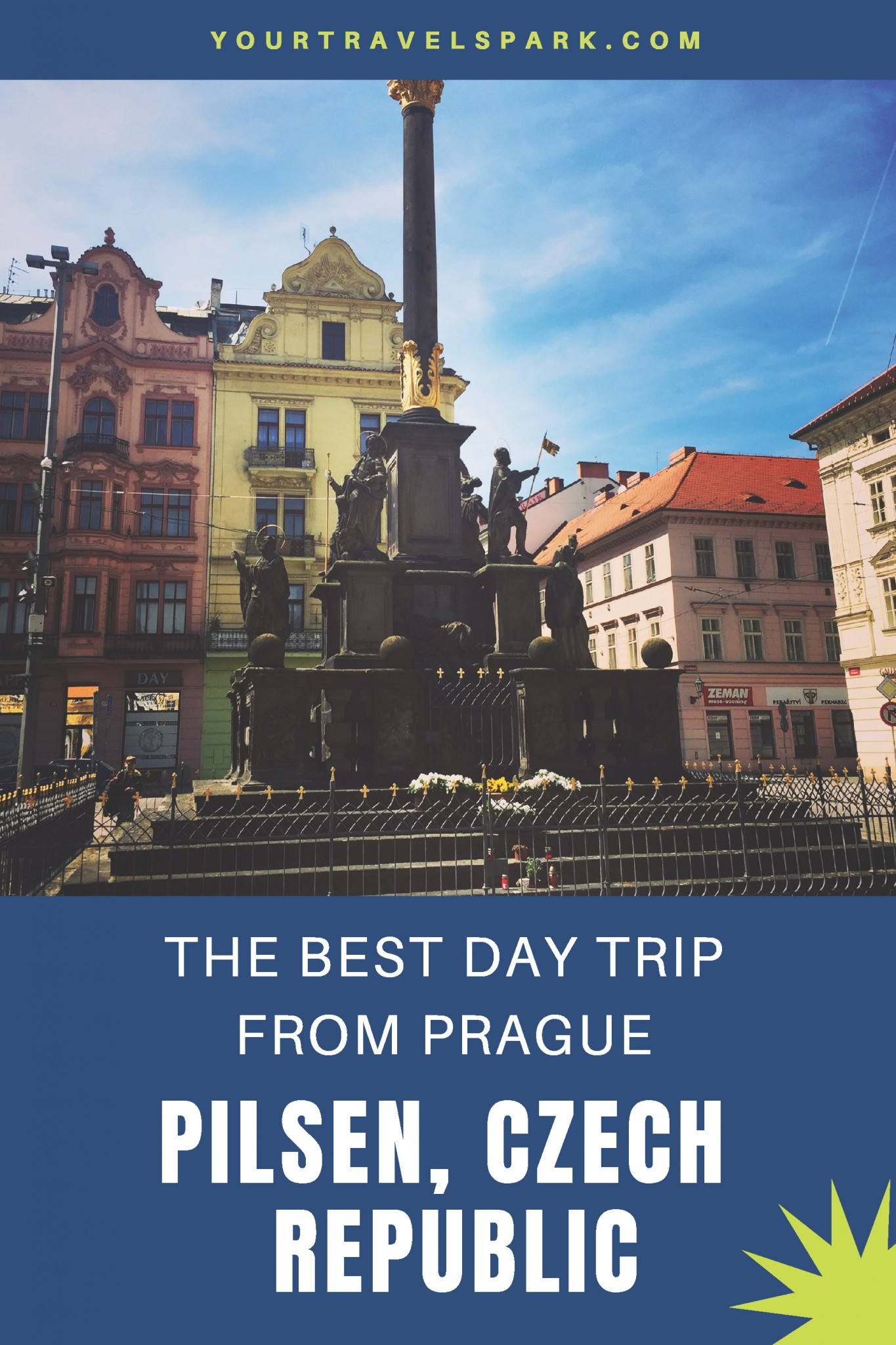 Visiting Pilsen, Czech Republic (or Plzn, Czech Republic) is one of the best day trips from Prague, Czech Republic. Here are the top things to do in Pilsen, Czech Republic. #pilsen #pilsencz #czechrepublic #cztravel #prague #praguedaytrip #praguedaytrips #daytripsfromprague #pilsnerurquell #pilsnerurquellbeer #pilsnerurquellbrewery #plzn #plzncz #plznczechrepublic #pilsenczechrepublic