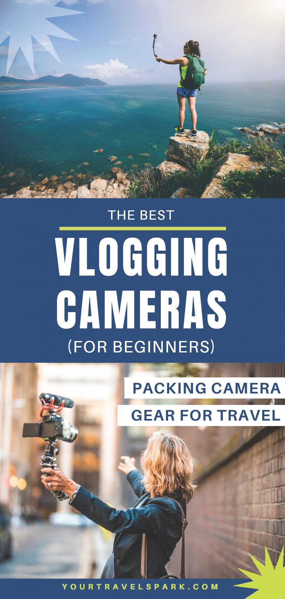 Packing camera gear for travel is an important thing to do right before going on your next trip. The best vlogging camera on a budget will get you the best video on your next trip. Here are our tips. #vlogging #vlog #vlogcamera #vloggear #vloggingcamera #vlogginggear #blog #blogcamera #youtubecamera #youtubegear #camera #cameragear #nikon #gopro