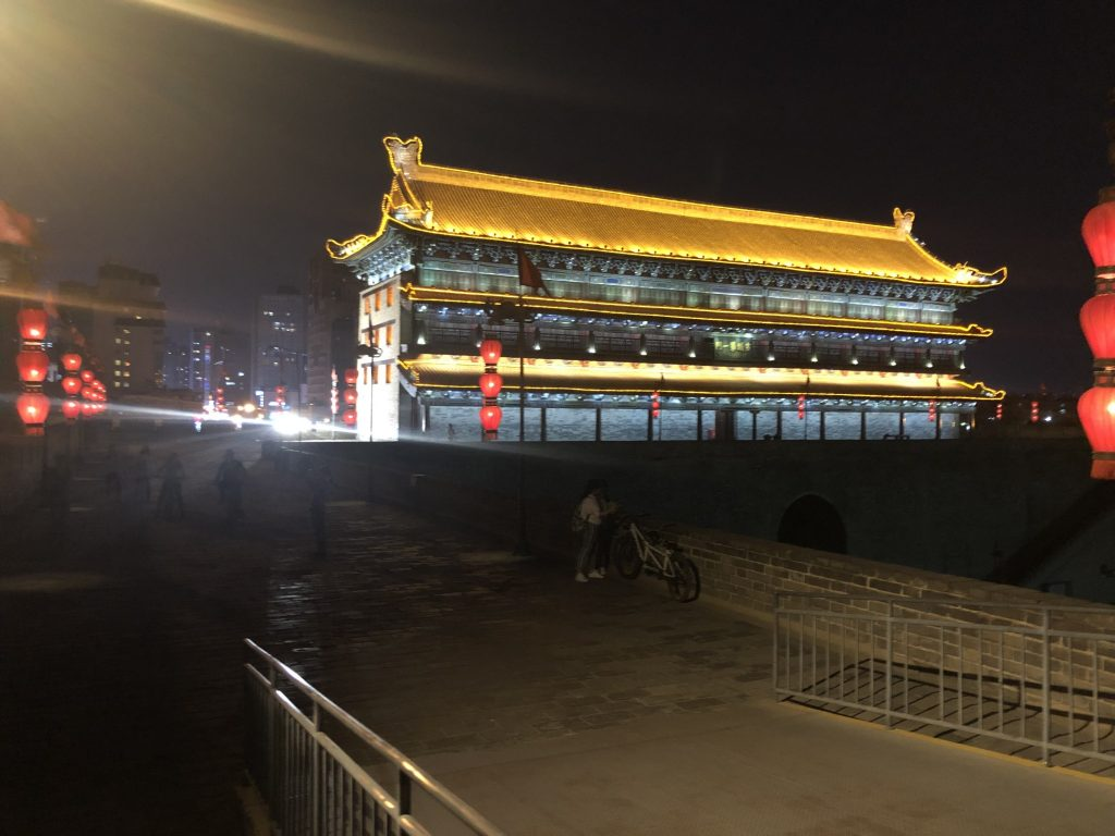 One day in Xian, China: Xian Muslim Quarter, Terracotta Warriors, Xian City Wall.