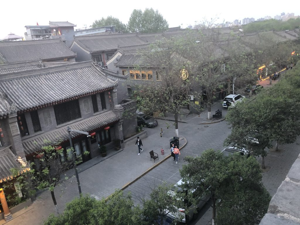 One day in Xian, China: Xian Muslim Quarter, Terracotta Warriors, Xian City Wall.